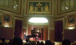 Recital Ateneo de Madrid con el pianista Elias Romero