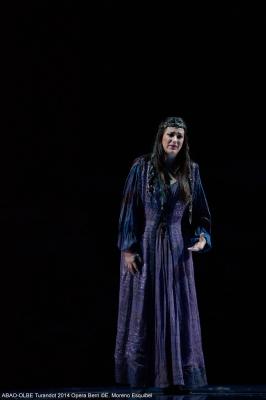 Turandot de Puccini en el Palacio Euskalduna de Bilbao, ABAO-OLBE, Miren Urbieta-Vega (Liù)