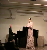 Recital en Jaen junto con el pianista Elias Romero