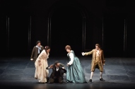 Don Giovanni (ABAO 2017) Simon Orfila (Leporello), Serena Farnocchia (Donna Elvira), Jose Luis Sola (Don Ottavio), Miren Urbieta-Vega (Zerlina), Giovanni Romeo (Masetto)