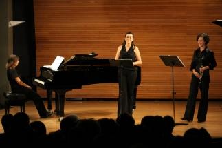 Concierto de Aldaxka Trio en el Bernaola Festival de Vitoria-Gasteiz