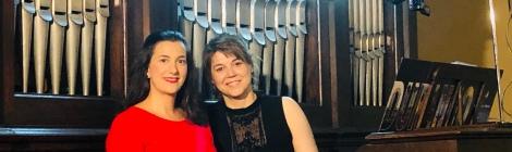 Miren Urbieta-Vega, soprano - Ana Belen García, organista